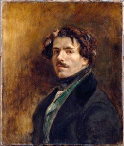 Eugène Delacroix, Autoportrait © RMN-Grand Palais (musée du Louvre) / Jean-Gilles Berizzi