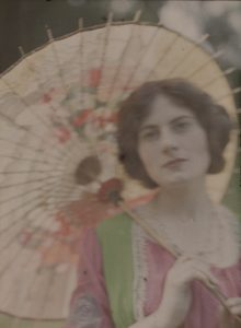John Cimon Warburg, The Japanese Parasol, c.1906, Royal Photographic Academy / National Media Museum / Science and Society Picture Library
